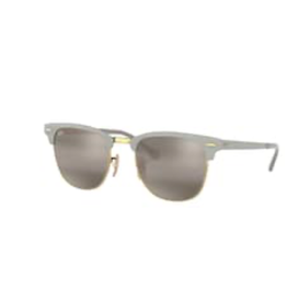 Ray Ban Ray-Ban Clubmaster Metal Gold on Top Matte Grey