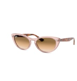 Ray Ban Ray-Ban Nina Transparent Light Brown w/ Gradient Brown