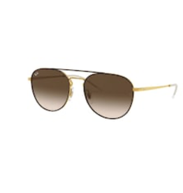 Ray Ban Ray-Ban Gold Top on Brown w/ Gradient Brown