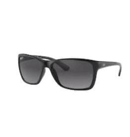 Ray Ban Ray Ban Black w/ Grey Gradient Dark Grey Polar