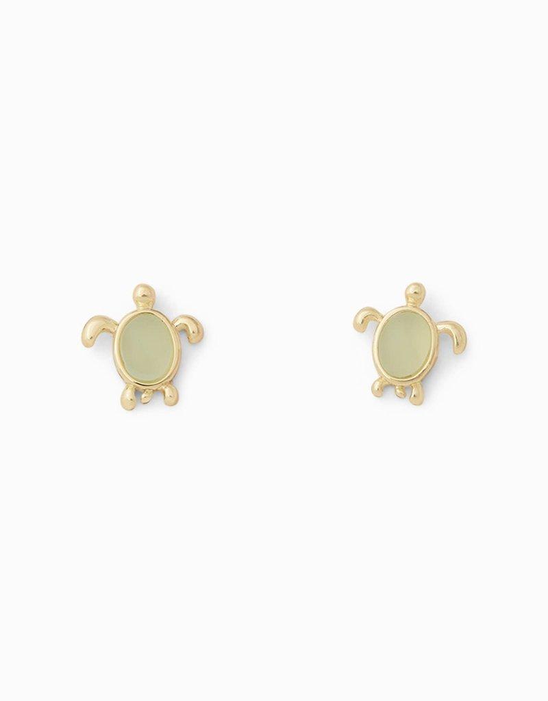 Pura Vida Pura Vida Gold Sea Turtle Stud Earrings