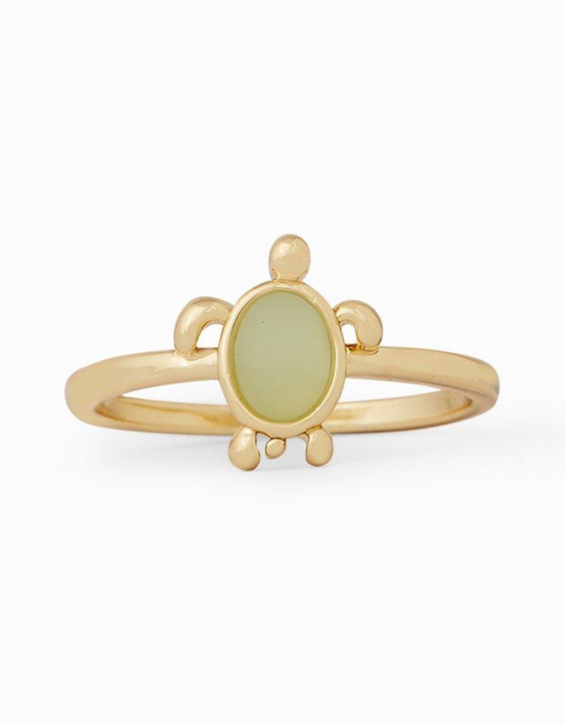 Pura Vida Pura Vida Gold Sea Turtle Ring