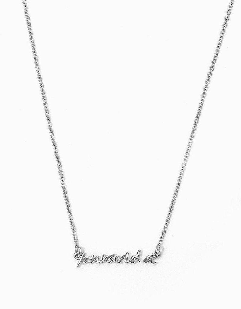 Pura Vida Pura Vida Necklace - Silver
