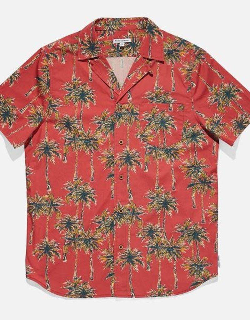 Banks Journal Banks Palm Beach Woven Shirt