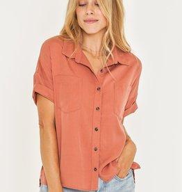 Rusty Rusty Aries Short Sleeve Shirt