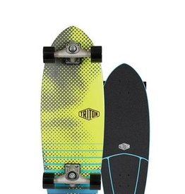 "Carver Triton by Carver 29"" Xenon Surfskate Complete CX Raw"