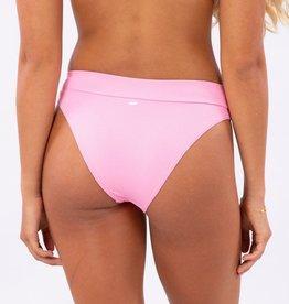 Rip Curl Rip Curl Eco Rib High Leg Cheeky Bikini Bottom