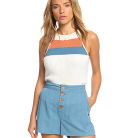 Roxy Roxy Baby Outlaw Strappy High Neck Knitted Top
