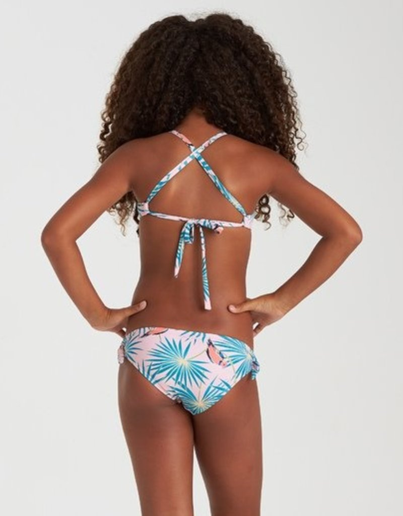 Billabong Billabong Girls Luv Birds Knotted Tri Bikini Set