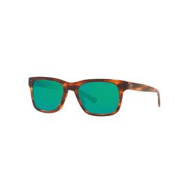Costa Costa Tybee Shiny Tortoise Green Mirror 580G