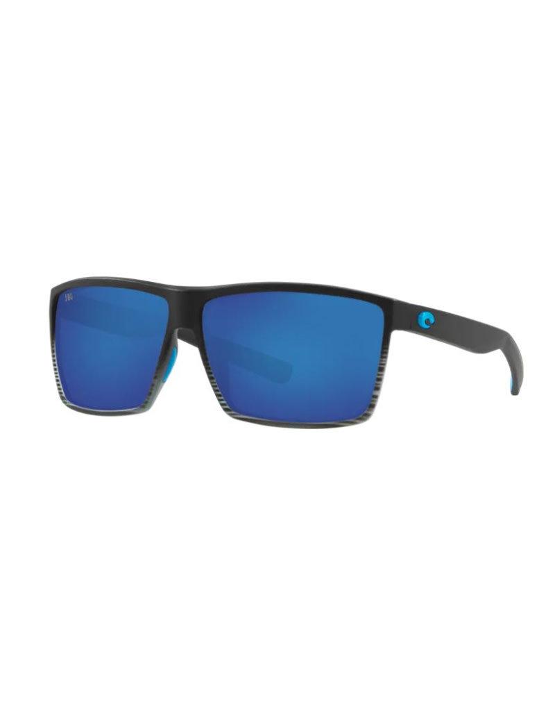 Costa Costa Rincon Matte Smoke Crystal Frame Blue Mirror 580P