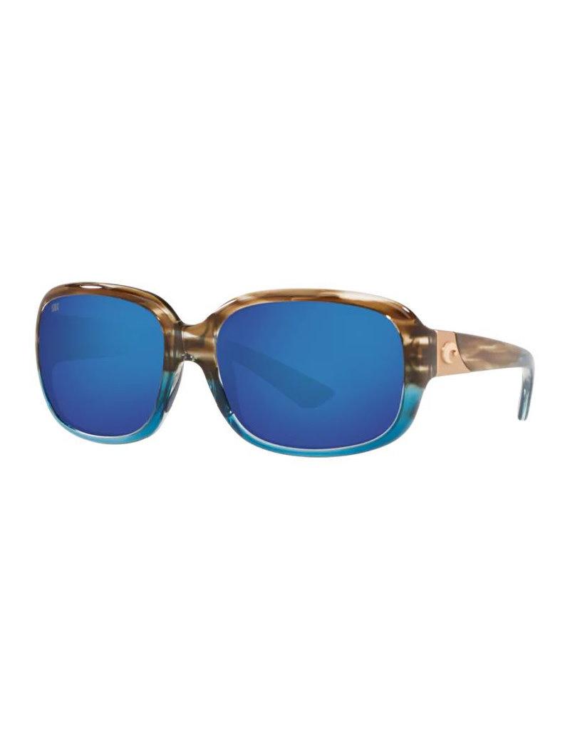 Costa Costa Gannet Shiny Wahoo Frame Blue Mirror 580P