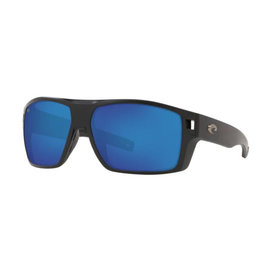Costa Costa Diego Matte Black Blue Mirror 580P