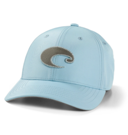 Costa Costa Regular Fit Neoprene Logo Performance Hat Light Blue