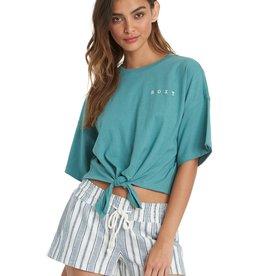 Roxy Roxy Manuscrit TieFront T-Shirt