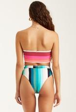 Billabong Billabong Sol Stripes Rise Bikini Bottom