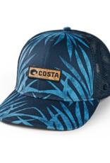 Costa Costa Coco Palms Trucker XL Hat Blue
