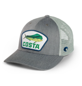 Costa Costa Dorado Patch XL Trucker Hat Gray
