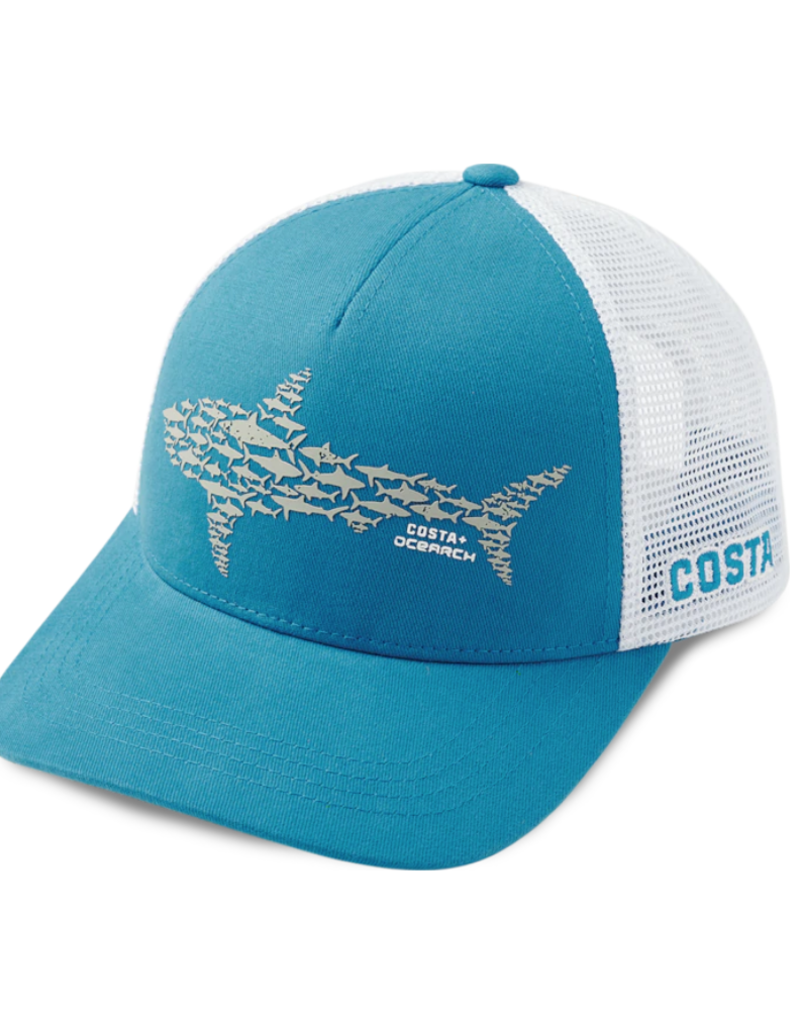 Costa Costa Ocearch Huddle Trucker Hat Costa Blue/White