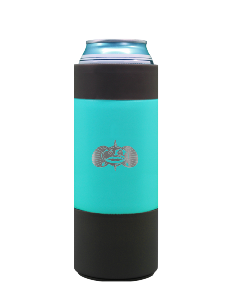 Toadfish Outfitters Toadfish Outfitters Non-Tipping SLIM Can Cooler - Teal