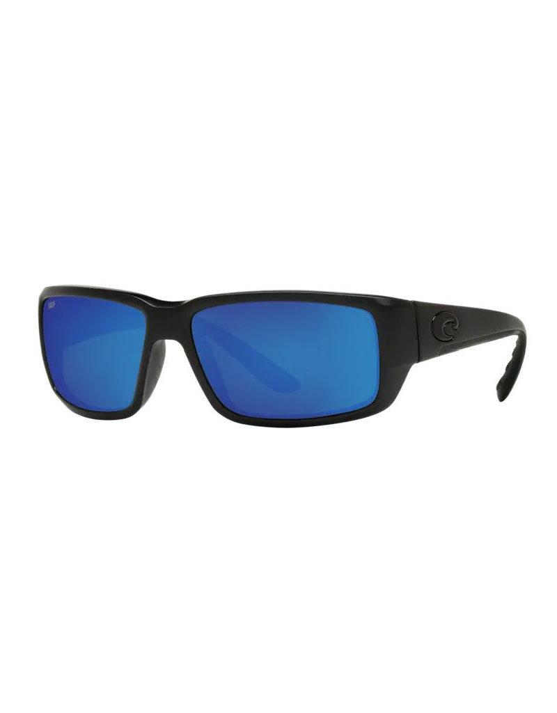 Costa Costa Fantail Blackout Frame Blue Mirror 580G