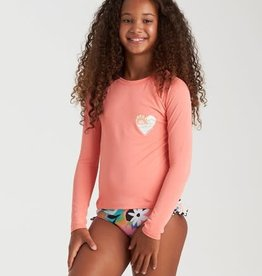 Billabong Billabong Girls On and On Long Sleeve Rashguard