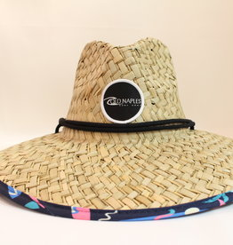 Old Naples Surf Shop ONSS Saved by the Surf Straw Hat