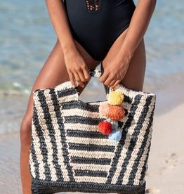 Billabong Billabong Talk To The Palm Straw Tote Bag
