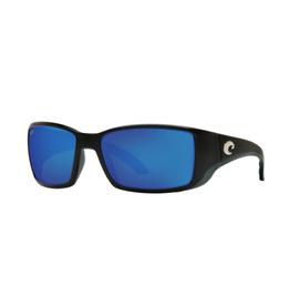 Costa Costa Blackfin  Matte Black Frame Blue Mirror 580G