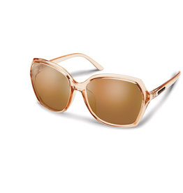 Suncloud Suncloud Adelaide Crystal Peach Polarized Brown