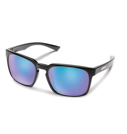 Suncloud Suncloud Hundo Black Polarized Blue Mirror