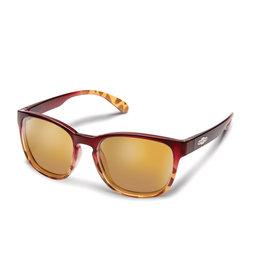 Suncloud Suncloud Loveseat Raspberr yTortoise Fade Polarized Sienna Mirror