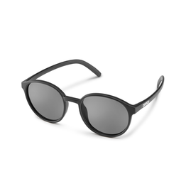 Suncloud Suncloud Low Key Sunglass: Matte Black  Polarized Gray Lens