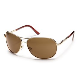 Suncloud Suncloud Aviator Gold  /Polarized Brown