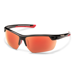 Suncloud Suncloud Contender Black/Polarized Red Mirror