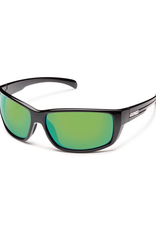 Suncloud Suncloud Milestone Black/Polarized Green Mirror