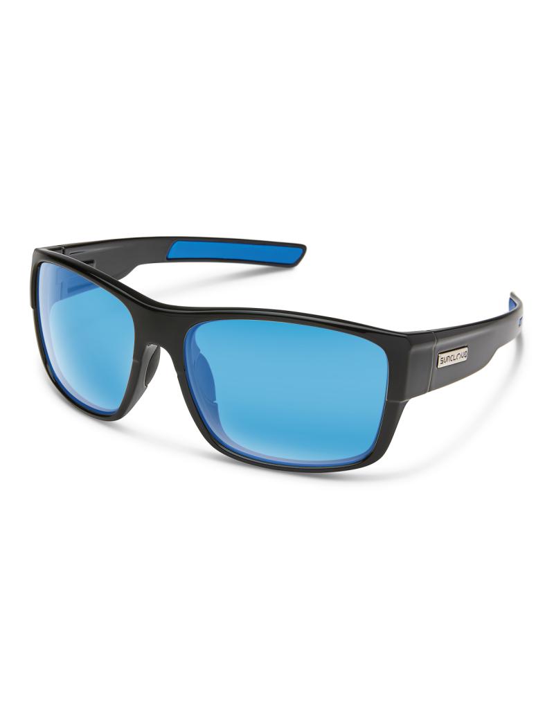 Suncloud Suncloud Range Black/Polarized Blue Mirror