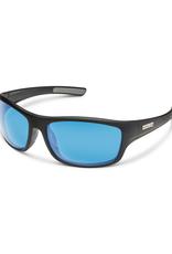 Suncloud Suncloud Cover Matte Black/Polarized Blue Mirror