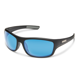 Suncloud Suncloud Cover Matte Black/Polarized Blue Mirror