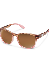 Suncloud Suncloud Loveseat Mt Tortoise  Pink Fade/Polarized Brown