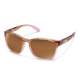 Suncloud Suncloud Loveseat Mt Tortoise  Pink Fade/Polarized Brown