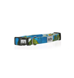 Salty Paws Salty Paws Hawaiian Print Dog Collar Blue