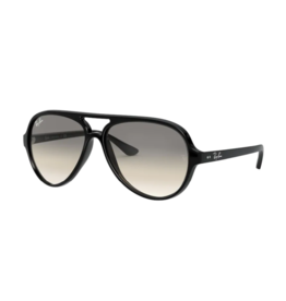 Ray Ban Ray-Ban Cats 5000 Black w/ Crystal Grey Gradient