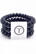 Teleties Teleties Jet Black 3 Pack - Large