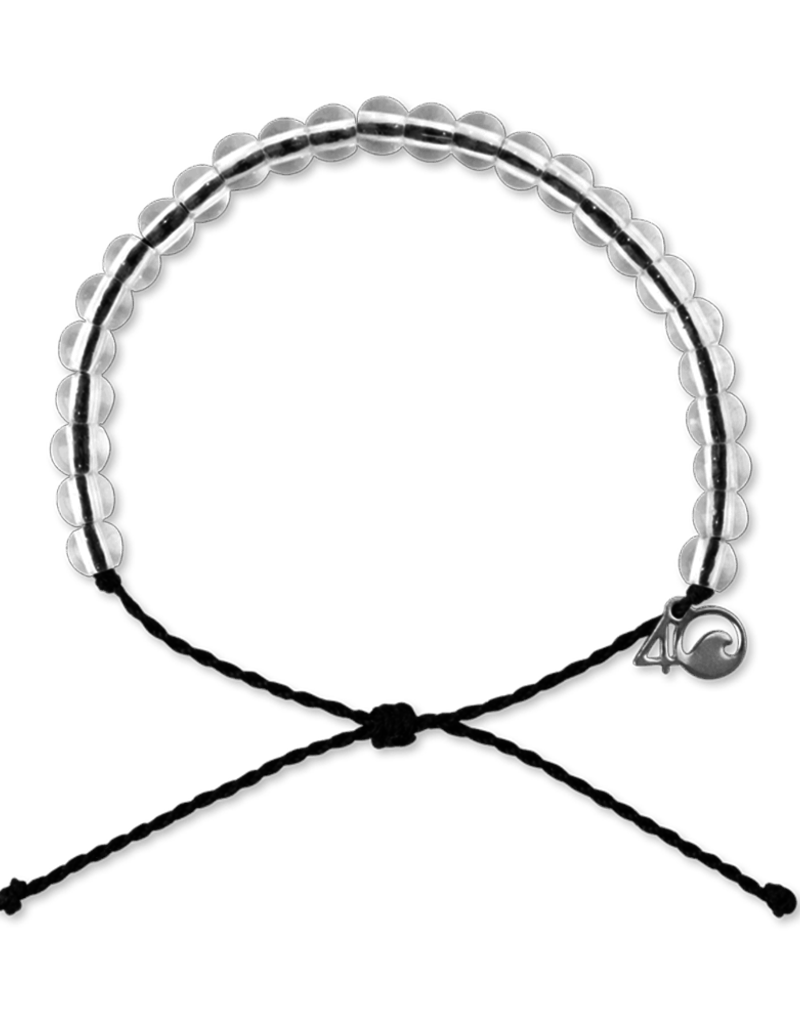 4Ocean 4Ocean Shark Bracelet - Black