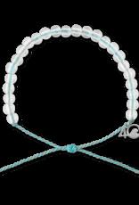 4Ocean 4Ocean Dolphin Bracelet - Light Blue/White