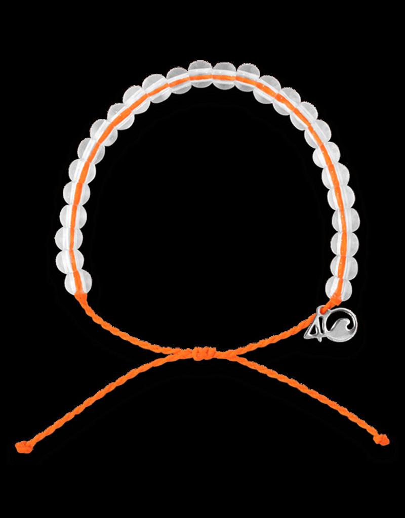 4Ocean 4Ocean Octopus Bracelet - Neon Orange
