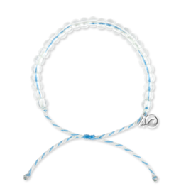 4Ocean 4Ocean Beluga Whale Bracelet - White/Light Blue