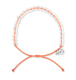 4Ocean 4Ocean Albatross Bracelet - Light Orange