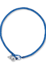 4Ocean 4Ocean Signature Braided Bracelet - Small, Blue